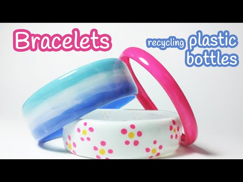 Diy crafts: BRACELETS recycling plastic bottles – Innova Crafts