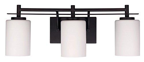 Oil Rubbed Bronze 3 Light Bathroom Vanity Wall Lighting: 3 Bulb Vanity Light Bar Wall Fixture Interior Lighting