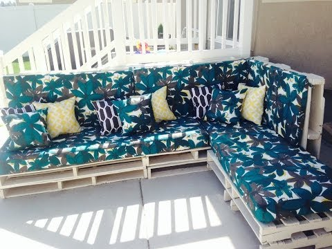 Pallet Furnishings Pinterest Do it yourself – Wooden PALLET Couch – Property style and design strategies