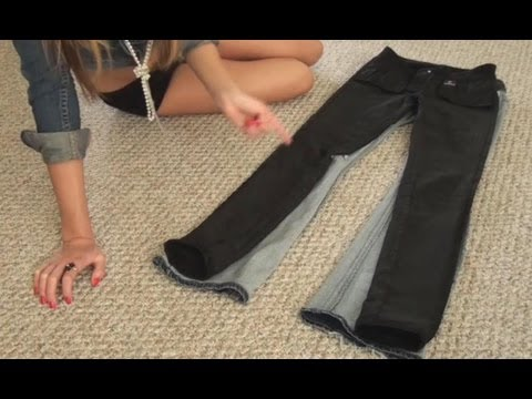 How to Recycle and Reuse Old Aged Jeans