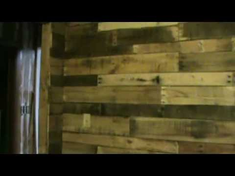 How to build a DIY Pallet Interior Wall