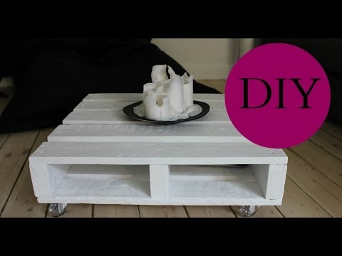 Property Decor: Do it yourself Pallet Espresso Table