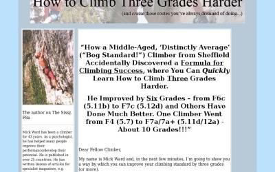 How to Climb Three Grades Harder