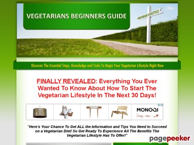 Vegetarian's Beginner's Guide – How To Become A Vegetarian 30 Day Course