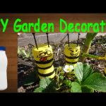 Diy Crafts: Recycling Plastic Bottles Amusing Honeybees for Your Backyard Decoration