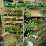 Good vertical pallet garden design ideas