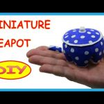 DIY Crafts: Plastic Bottles Miniature Teapot – Recycled Bottles Crafts How to Tutorial