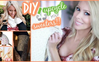 Cute & Easy DIY Fall Clothes Using Old Sweaters!