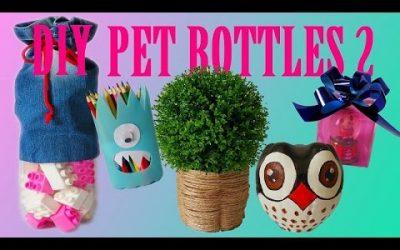10 DIY Creative Ways to Reuse / Recycle Plastic Bottles part 2