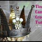 Tin Can Crown Tutorial: DIY crown, wedding, recycled crafts, tin can crown
