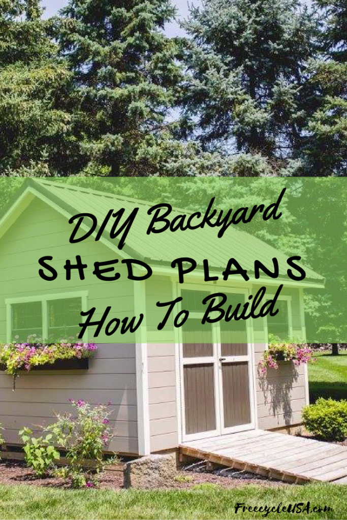 Simple to build backyard sheds for any diyer freecycle for Simply sheds online